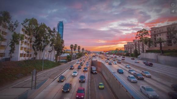 【動画】まるでCG! ロサンゼルスの街並みを撮影したハイパーラプス動画が美しすぎる!