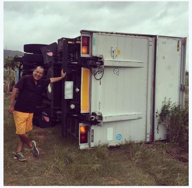 【台風15号】石垣島で観測史上最高の瞬間最大風速71メートルを記録 / 4tトラックが横倒しになる被害など発生