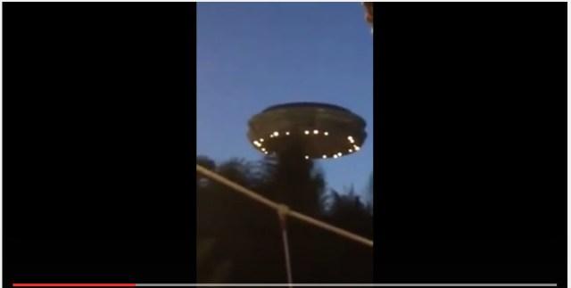 いまだかつてないほど鮮明なUFO動画か!? 巨大な物体が至近距離にあるはずが誰も驚かない不思議