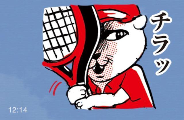 『ユニクロ』のLINEスタンプがまさかのテニスネタでかなり攻めてる件 / Twitterユーザーの声「二度見する」「スタンプでテニスできる」