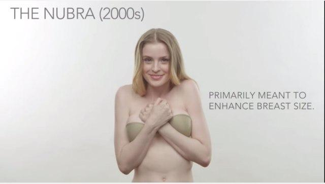 【動画】2分半で学ぶブラジャーの歴史! 各時代の女子の服の下はこうなってたっていうのがよーくわかる映像