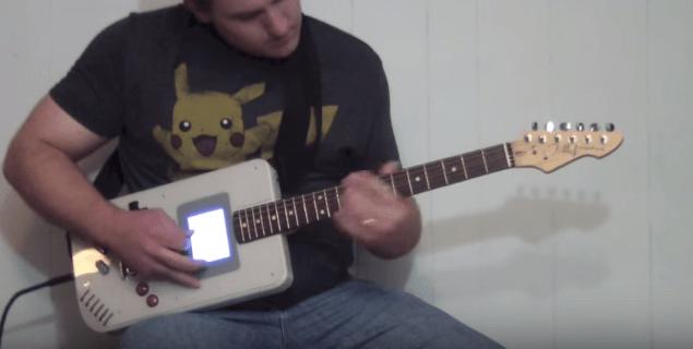 """誰得!? ギターとゲームボーイが合体した画期的な楽器 """"ギターボーイ"""" を考案した男の動画が話題"""