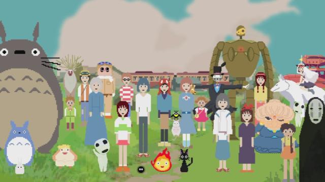 ラピュタもトトロもファミコン風に! 宮崎駿監督への愛が伝わる「8ビットのジブリ動画」がほんま素敵やん