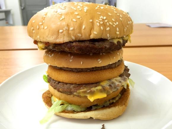 【合体】マクドナルド+バーガーキング =「マックワッパー」を作ってみた