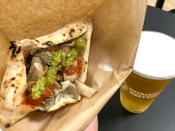 【激レア】日本ではめったに食べられない!『イタリア風モツバーガー』が新宿伊勢丹で期間限定販売中