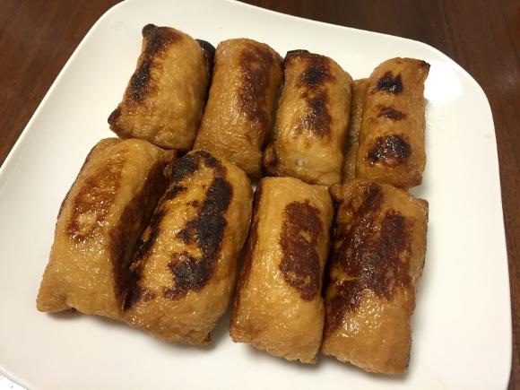 【最強レシピ】おいなりさんを焼いただけの「焼きいなり寿司」が激ウマい! 来月あたりスシローに登場してもおかしくないレベル!!