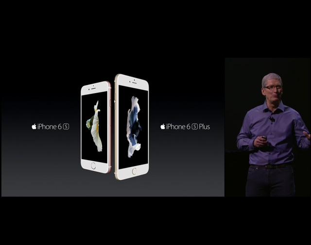 【速報】iPhone6sの発表キターッ! 12.9インチのiPad Proもキターーッ!! 6sは9月25日に発売開始ッ!
