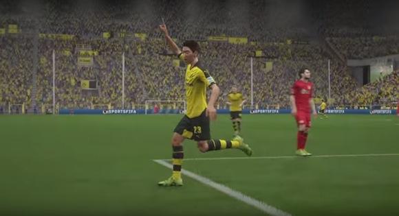 【衝撃サッカー動画】香川選手が大活躍! ドイツの公式サイトが公開したシミュレーションでキレキレの動きからスーパーゴール!!