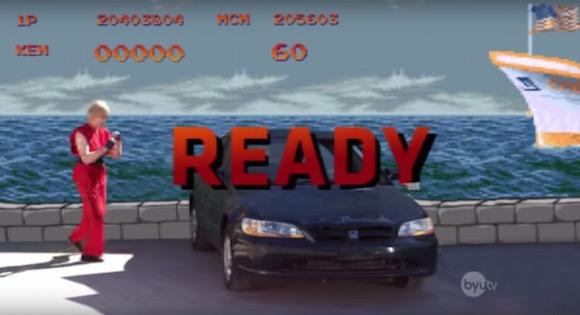 【検証動画】華奢な男がスト2のボーナスステージ「車破壊」に挑戦したらこうなった