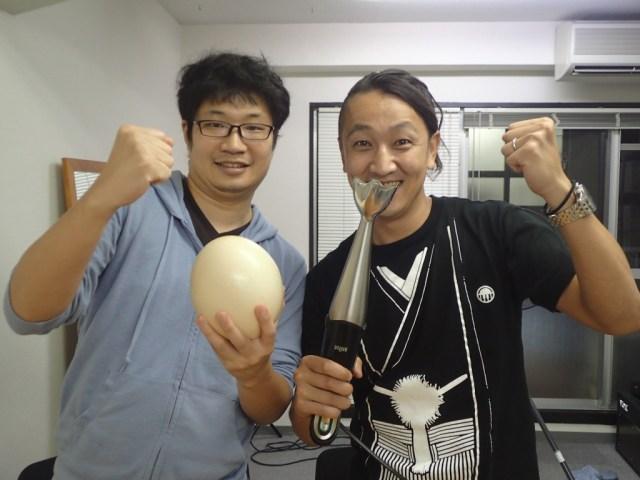 【衝撃】ダチョウの卵で「たまごかけご飯」を作ったら美味しいのか試してみた結果が激ヤバい