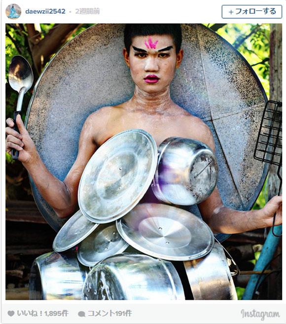 【画像多数】思わず二度見! タイ人少年のファッションセンスが異次元レベルに突き抜けていると話題に / ネットの声「これは才能の塊」