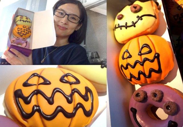 【新作】クリスピー・クリーム・ドーナツの「ハロウィン限定モンスタードーナツ」を食べてみた!! 甘いもの食べない系男子はどう感じた?