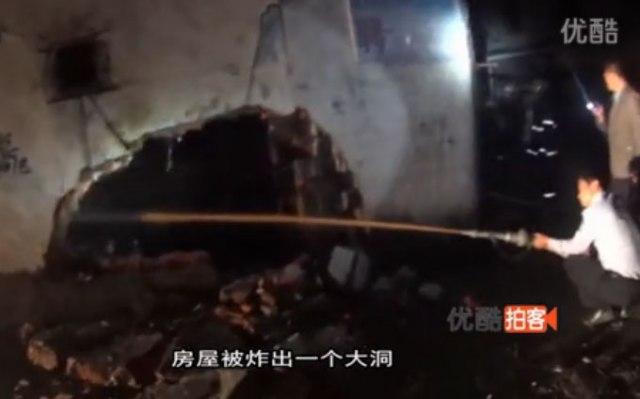 【中国】男性「爆発事故怖い。ガス漏れしてないかチェックしとこ」→ 実際に火をつけて確認 → 家が爆発