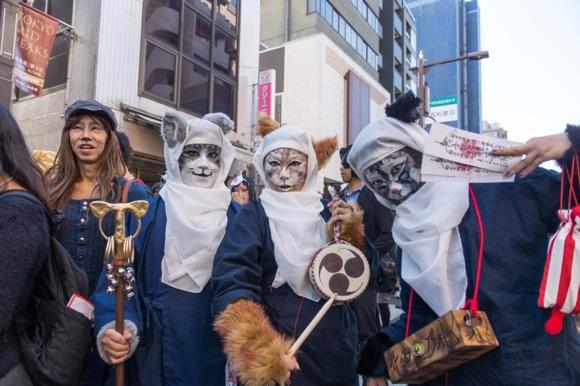 """【画像多数】10月18日はネコになろう! いろんな """"化け猫"""" がニャニャンと集まる『神楽坂 化け猫フェスティバル』が開催されるよ!!"""
