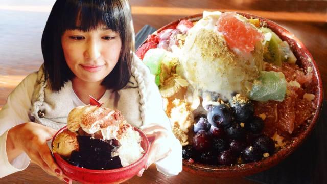 【マジ感動】カラフルでモリモリ乗ったトッピングが素晴らしすぎる! 奈良県明日香村「Café ことだま」のカキ氷を食べてみた