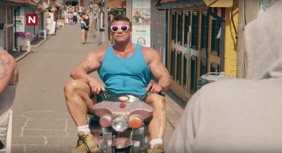 【衝撃動画】マッチョマン大歓喜! 簡単に筋肉を大きく見せる方法が海外で発見される