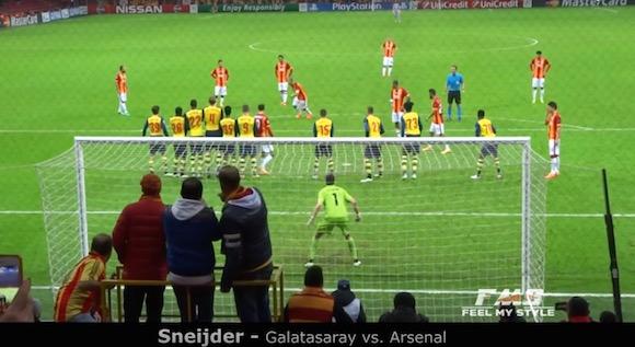 【衝撃サッカー動画】臨場感がハンパない! スタジアムでファンが撮影したスーパーゴール26連発