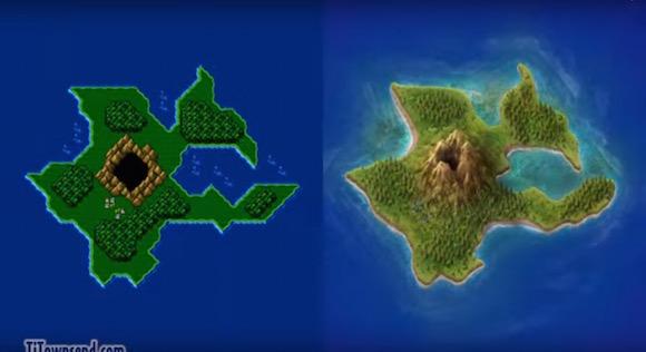 【神クオリティ】フォトショで『ファイナルファンタジー4』の地図をリアル再現した動画がマジでハンパない