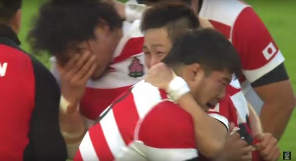 【ラグビーW杯動画】世紀のジャイアントキリング「日本代表が南アフリカに勝利した瞬間」が何度見ても魂が揺さぶられる