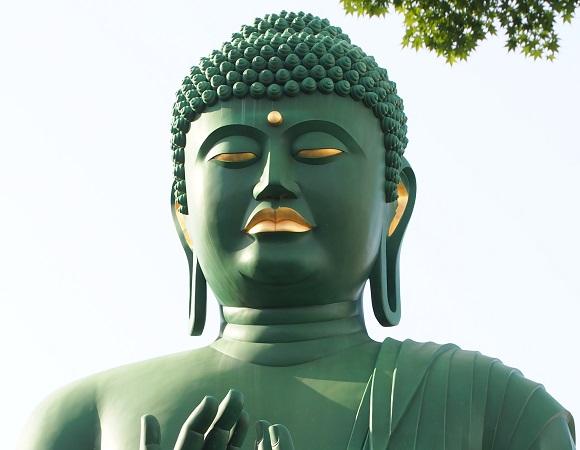【珍スポット】ピッコロ以上に緑が強い「名古屋大仏」がマジで激しくグリーンな件 / 今では知る人ぞ知る観光地に!