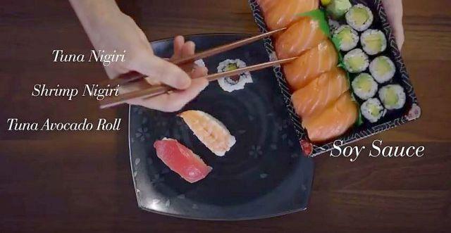 100年間にわたる「アメリカの食事遍歴」をまとめた動画に興味深々! お寿司まで登場するぞ!!