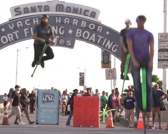 【動画あり】飛びすぎ注意!「スポーツ用ホッピング」のジャンプ力が完全にスーパーマリオを超えている件