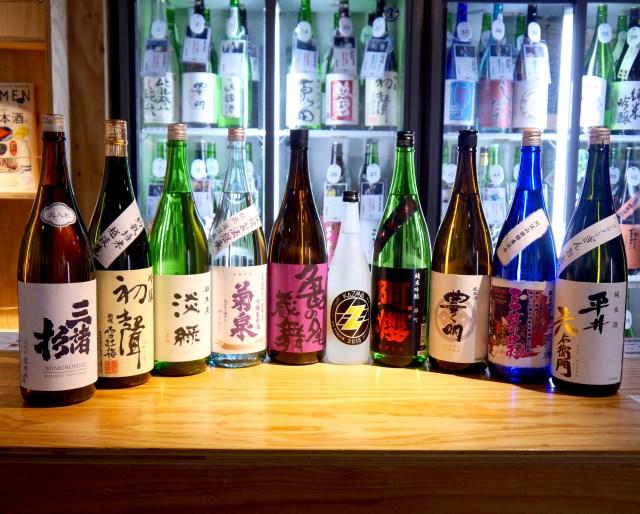 【保存版】100種の日本酒3000円飲み放題の店に聞いた「今飲むべき日本酒」10選!