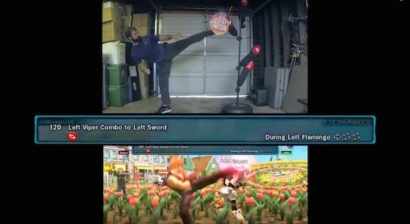 【衝撃動画】人気ゲーム『鉄拳』の足技コンボを現実世界で完全マスターした男