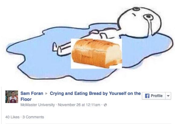 【非リア祭】「大みそかの夜には……1人で泣け! 寝転べ!! パンを食え!!!」 という謎イベントが開催予定 / 3万人以上が参加を表明