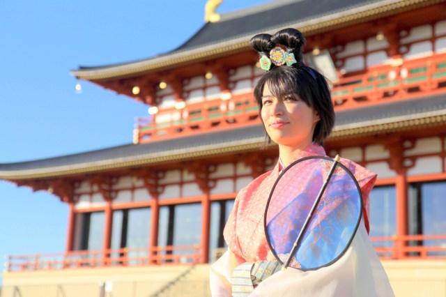 【オススメ】奈良時代の衣装を着てみた! 一瞬で古代の貴族気分になれちゃうのだ / 奈良市「装束散歩710」の天平衣装体験