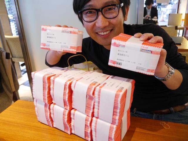 【実録】『スクラッチの宝くじ』を100万円分買ってみた