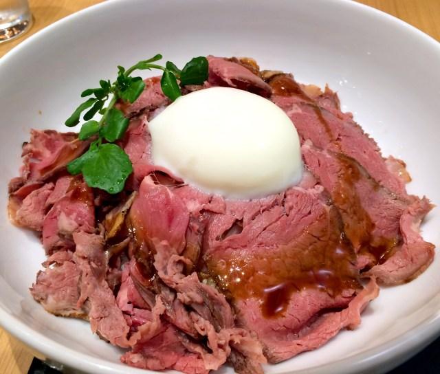 デニーズのフェアメニュー「ローストビーフ丼~ひつまぶし風」を食べてみた / はっきり言って出汁はいらない