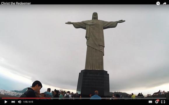 【閲覧注意】ロシア人が「コルコバードのキリスト像」に不法侵入! 頂上から撮影した視点映像が失神レベルでヤバい