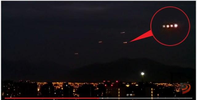 【動画】南米チリで上空を連なるナゾの発光体が目撃される! 海外ネットユーザーの間で議論白熱