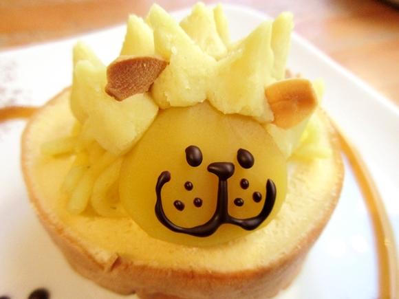 モンブランとライオンが出会った『モンブライオン』が奇跡の可愛さ! 食べずにこのまま連れて帰りたいレベル / 東京・高円寺「Baby King Kitchen」