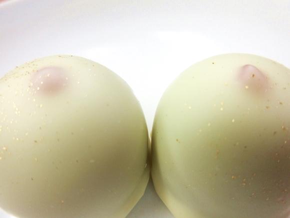 """【男子ちょっと来い】オーストリアの伝統菓子『ヴィーナスの乳首』が """"いろいろな意味"""" で素晴らしい / 東京・赤坂「Neues(ノイエス)」"""