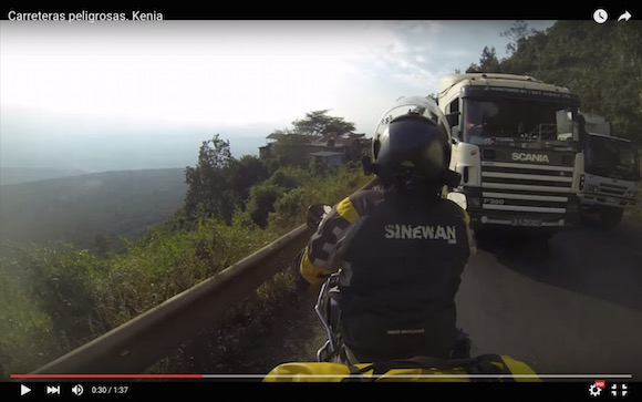 【衝撃動画】迫り来る恐怖! ケニアの交通事情が想像以上にヤバかった
