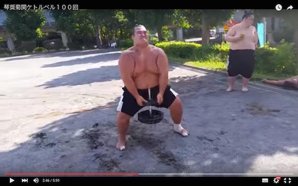 【動画あり】大相撲初場所で優勝した琴奨菊のトレーニングがスゴすぎる