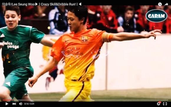 【衝撃サッカー動画】日本代表の強敵となること間違いなし! バルセロナと契約した「韓国のメッシ」が18歳なのにキレキレすぎてヤバい