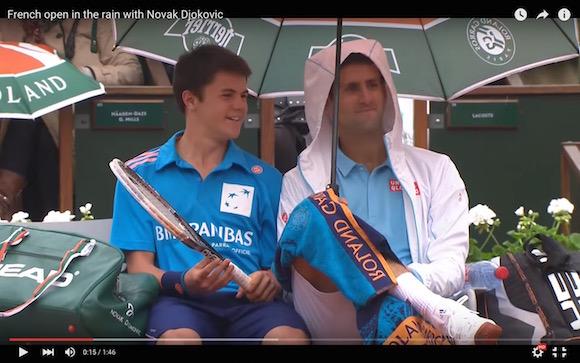 【テニス】ジョコビッチ選手が気さくすぎ! いつ見ても心温まる動画がコレだ!!