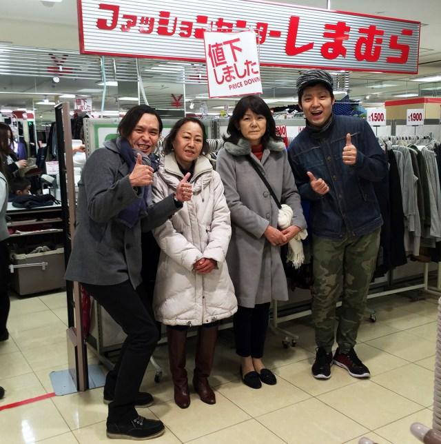 【ガチすぎ】55才のオカンと62才のオカンが息子のために1万円コーディネート対決したらこうなった 〜東京しまむらコレクション〜