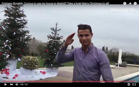 【動画あり】クリスティアーノ・ロナウドの家がブルジョアすぎる
