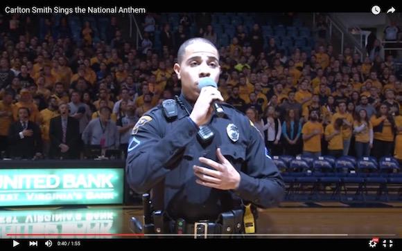 【衝撃動画】歌手の代役で警備員が国家斉唱 → 美声すぎて会場から大歓声
