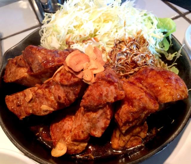【オジサンのチエ袋】怒りが頂天に達したときオジサンは肉を食う / 東京トンテキ・渋谷