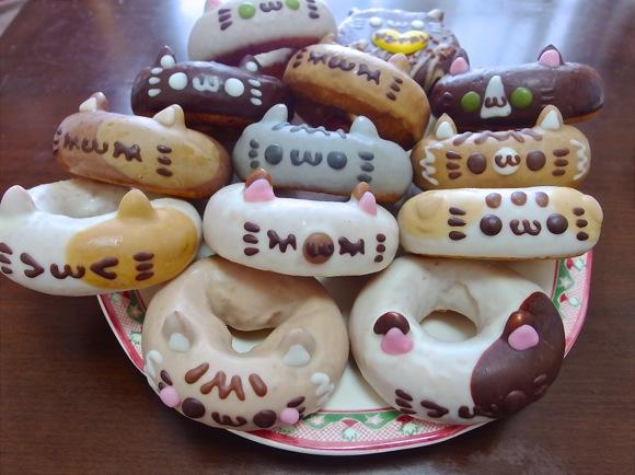 """ネコ型ドーナツがお店をジャック! 2/21&22のみ「イクミママのどうぶつドーナツ」本店&自由が丘店で """"スーパーにゃんこDay"""" が開催中だぞー!!"""