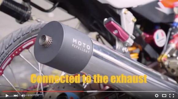 【世界を救う発明】バイクで走るだけで蚊が全滅!? タイの蚊を駆除する「人類最強装置」がスゲーぞー!
