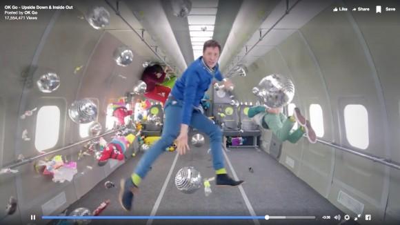 人類史上初! 無重力空間で撮影された「OK Go」の新作ミュージックビデオが話題