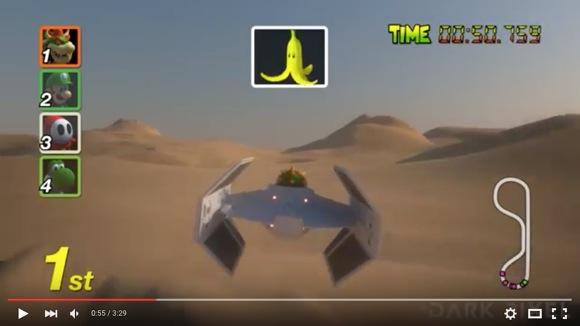 『マリオカート』と『スター・ウォーズ』が合体した動画が激アツすぎる! ネットの声「こういうのを待っていたんだ!!」