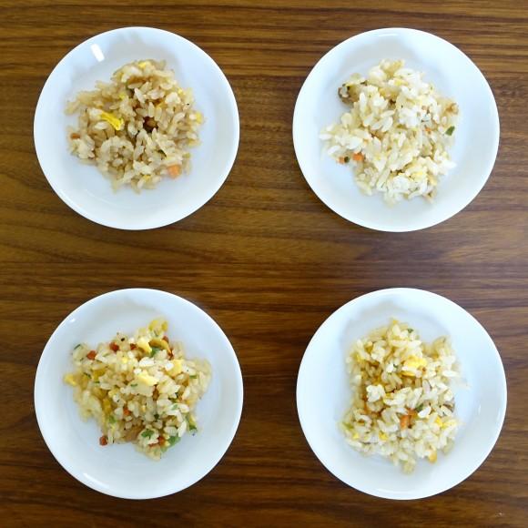【検証】セブン、ファミマ、ローソン、サンクスの「冷凍チャーハン」で一番ウマいのはどれか食べ比べてみた