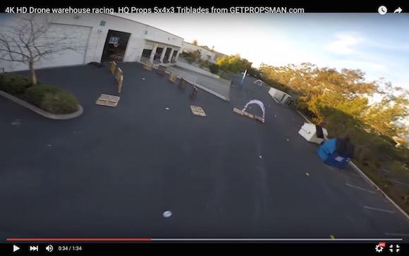 小型無人飛行機「ドローン」の飛行性能がどれほどスゴいのか一発でわかる動画がコレだ!!